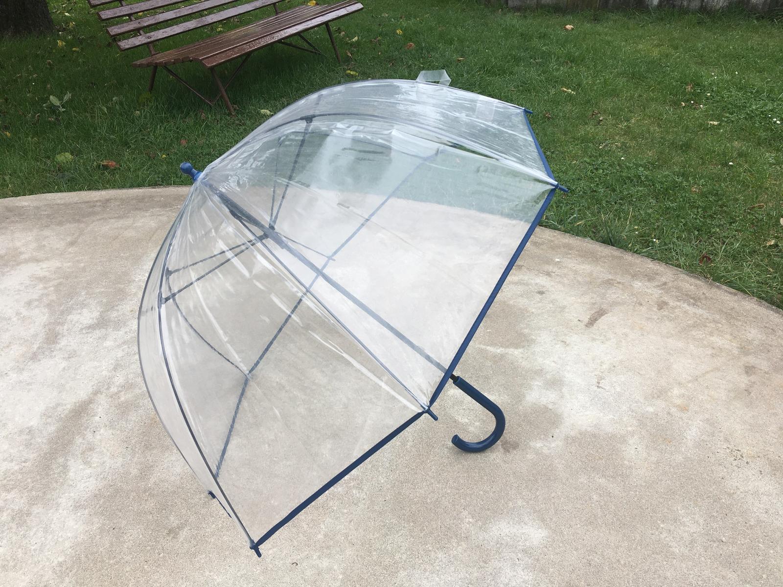 deštník průhledný - Obrázek č. 1