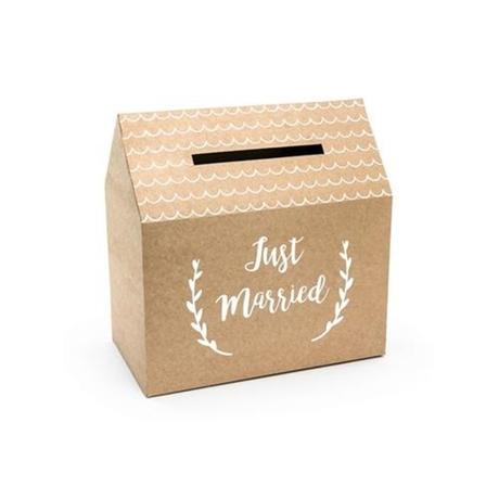 Papírový box na přání, vzkazy,... - Obrázek č. 1