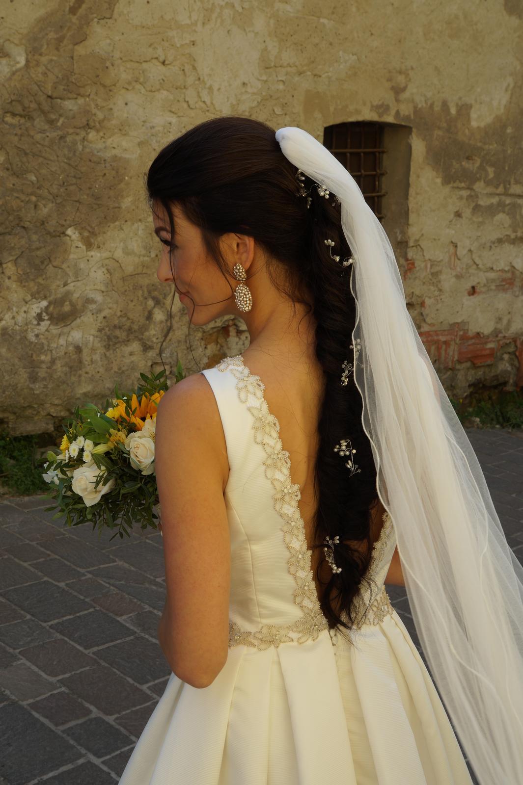 Milované nadčasové svadobné šaty - ROSA CLARA ORBE - Obrázok č. 1