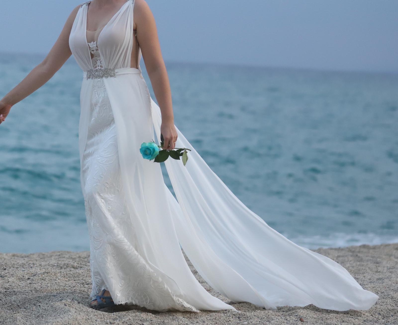Talianske svadobné šaty - Obrázok č. 1