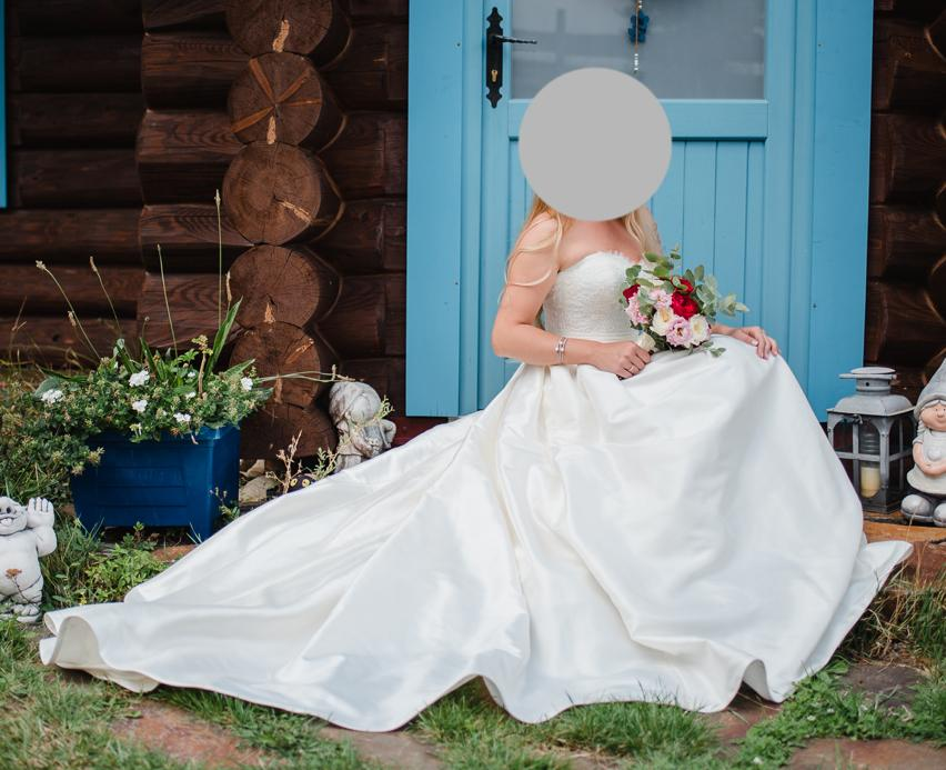 Predám svadobné šaty zn. WEM - Obrázok č. 1