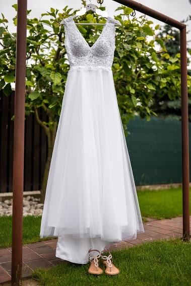 Prodám krásné svatební šaty - Obrázek č. 1