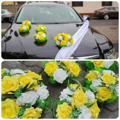 Květiny na auto - Obrázek č. 1