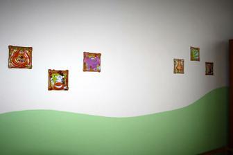 Kubíkové nové obrázky na stěnu