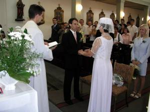 novomanželský slib