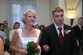 nevěsta s ženichem