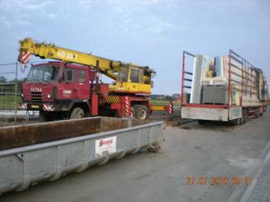 1. kamión připraven