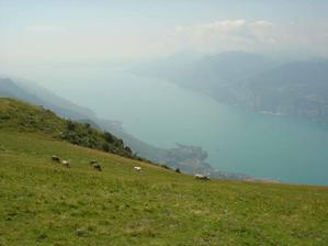 Tady jsme se dne 15.8.2009 zasnoubili - Itálie Lago di Garda
