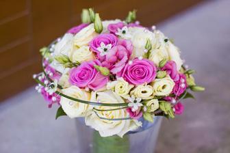 květina pro nevěstu
