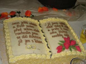Svatební dort XVI.