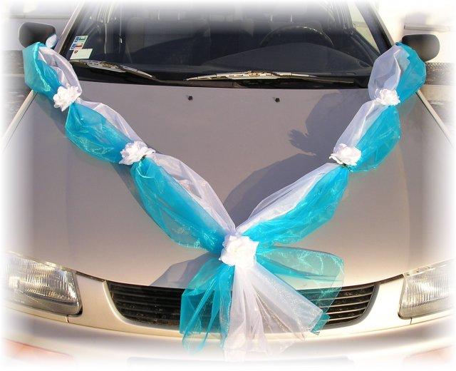 Co už máme a inspirace aneb mořská svatba - u zdobení aut si nejsem jistá..