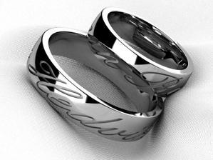 První návrh našich prstýnků