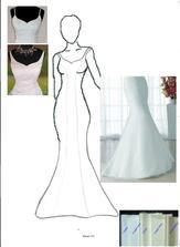 Definitivní návrh šatů