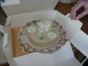 Zkušební dort, průměr 14 cm (prcek)