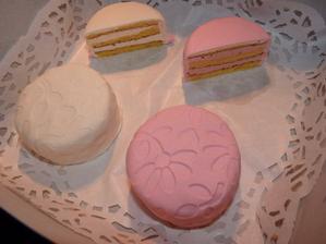 Druhý zkušební dort - výborný, na zkoušku 4 příchutě (chtěli jsme dvě) a navíc zadarmo - jasný výherce!