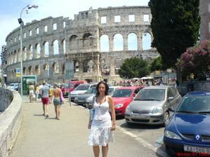 naše svatební cesta..Pula...největší a nejstarší město Istrie
