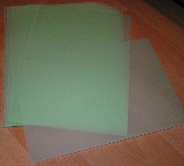 Žabkovo zelená...29.09.2007 - zelený pauzák na oznamka