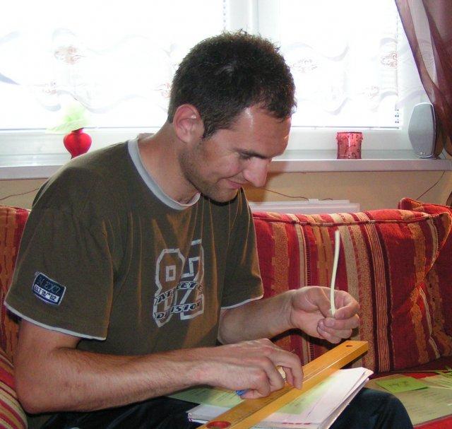 Žabkovo zelená...29.09.2007 - aj Vladík priložil ruku k dielu