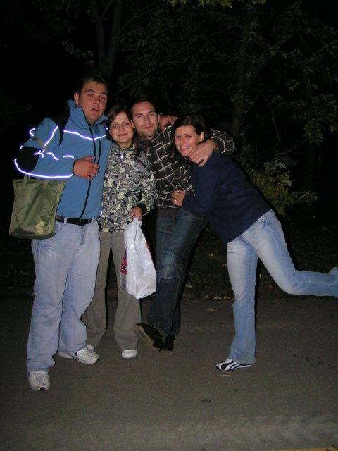 Žabkovo zelená...29.09.2007 - dlhá predlhá cesta z rozlúčky domov...