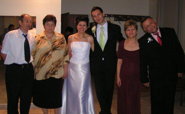 Ivka Sigutová{{_AND_}}Vladko Rumpeľ - s rodičmi