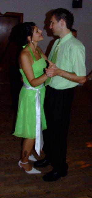 Ivka Sigutová{{_AND_}}Vladko Rumpeľ - pri tanci