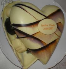 darček od pána Bagoňu(výzdoba)- fantastické pralinky v čokoládovom srdci