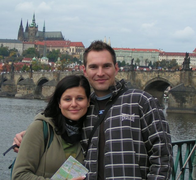 Ivka Sigutová{{_AND_}}Vladko Rumpeľ - svadobná cesta- Praha- krásne mesto plné krásnych miest... škoda len že nebolo viac času všetko si pozrieť...
