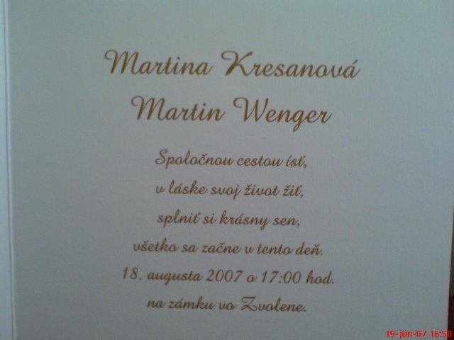 Martina Kresanová & Martin Wenger - Obrázok č. 14