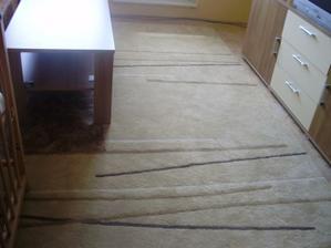 koberec v obyvačke