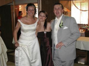 Na hostině s nejlepší kamarádkou nevěsty...