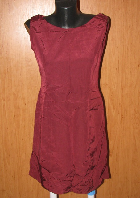Bordové šaty - Obrázok č. 1