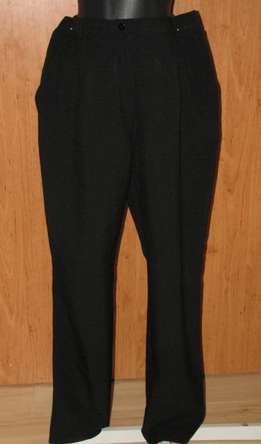 Čierne nohavice v. 44/46 - Obrázok č. 1
