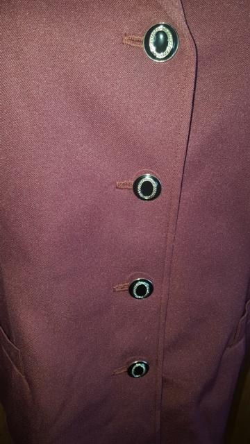 Bordový kostým 3 kombinácia - Obrázok č. 3