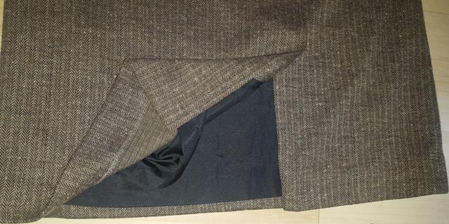 Hnedo - čierna sukňa - Obrázok č. 3