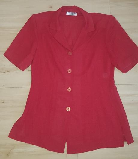 Červený letný kostým - Obrázok č. 2