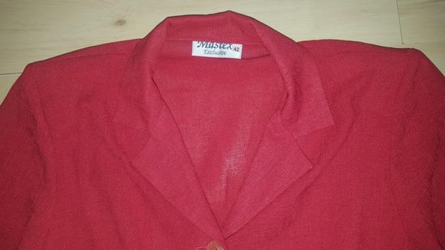 Červený letný kostým - Obrázok č. 3