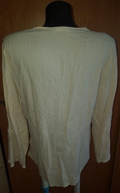 Krémová ľahká tunika - Obrázok č. 2