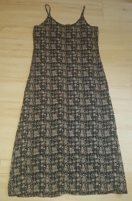 Dlhé hnedé šaty v. S/M - Obrázok č. 4