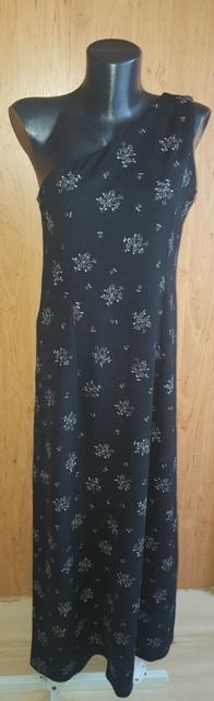 Čierne šaty v. M/L - Obrázok č. 1