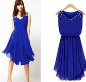 Modré šaty, M