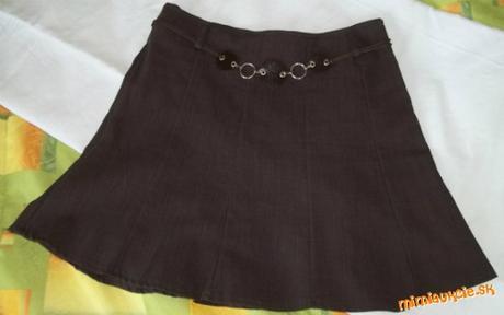 Hnedá sukňa - Obrázok č. 2