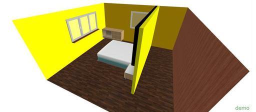 Návrh ktorý vytvoril môj priateľ  šikovný :D a inač všetky steny budu žlté len to až tak dobre nevidno :)