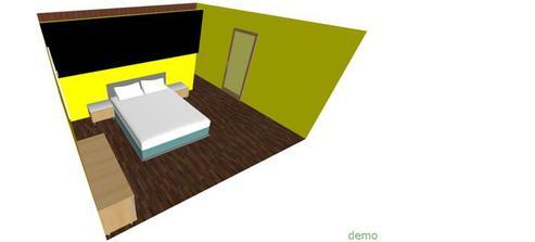 nábytok a postel by som chcela čierne ... lesklú komodu a aj nočné stolíky a čalunenú posteľ :)
