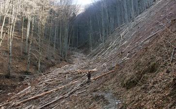 Vrátna dolina sa mení na mesačnu krajinu,je to hroza.
