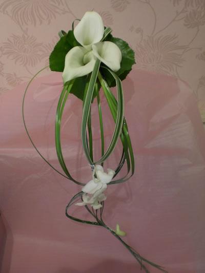 Flowers Prep - A bridesmaid's bouquet
