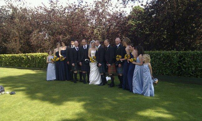 Kathryn beard{{_AND_}}Iain larkin - bridal party