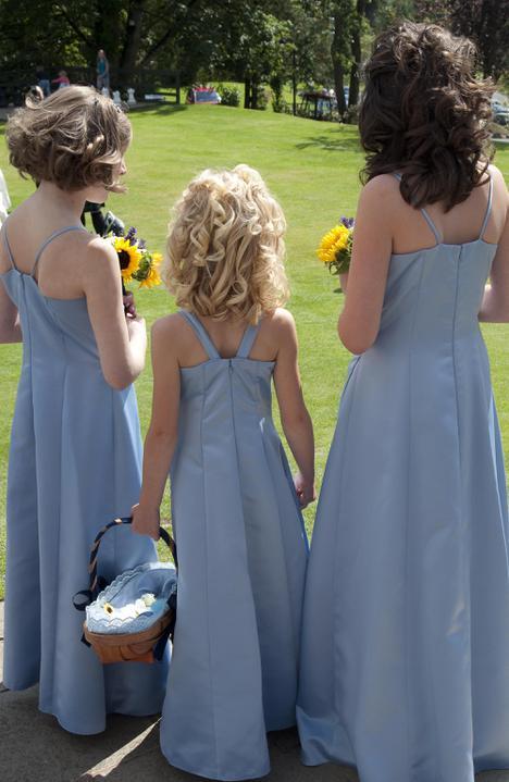 Kathryn beard{{_AND_}}Iain larkin - my young bridesmaids