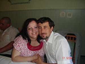 My 17.5.09 na prvom sv. prijímaní Tomáška Slúku, sesternicinho synáčika a môjho ppokladíka.