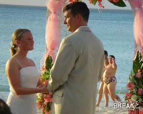 Tak také pozadie svadobnej fotky by som nechcela