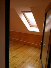 Podkroví, pokoj 3 se samostatnou koupelnou